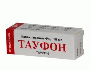 Тауфон - глазные капли 4%, 10 мл