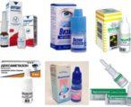 Виды глазных капель от аллергии