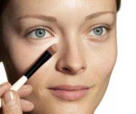 Как замаскировать синяк под глазом