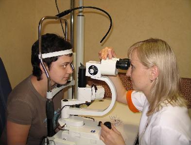 диагностика органов зрения
