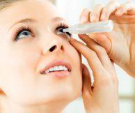 Какие капли использовать при сухости глаз